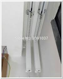 brand new silent motorized double curtain track smart home used