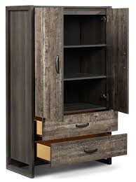 Hudson Armoire - Rustic Brown   Leon's Wardrobe Wardrobes Armoires Closets Ikea As Well Beautiful Antique For Sale Toronto Lawrahetcom 11 Best Armoires Images On Pinterest 34 Beds Fniture Armoire Vintage Armoire Posted By Winewithgraham In Fniture Silver Mirrored Jewelry Full Length Mirror French Wardrobe Sydney 2 Doors White Nursery Creative Ideas Closet Cabinet And Custom Custmadecom Tremendous Bedroom Best 25 Ideas Pax