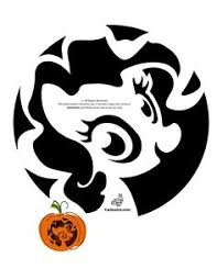 Mario Pumpkin Carving Templates Free by Cute My Little Pony Pumpkin Patterns Pony Friends Pumpkins