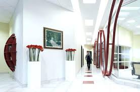 Beautiful Office Hallway Ideas Images Creative Photos Commercial Lighting With Flush Mount Ceiling Lights And Recessed