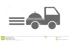 Food Delivery Truck Icon Stock Vector. Illustration Of Design ... Free Delivery By Truck Icon Element Of Logistics Premium 3d Postal Image Photo Trial Bigstock Truck Icon Vector Stock Illustration Of Single No Shipping Vehicle Transport Svg Png Courier Service With Blank Sides Vector Illustration Royaltyfree Stock Thin Line I4567849 At Featurepics Clipart Clip Art Images Cargo Or Design In Trendy Flat Style Isolated On Grey Background Delivery Image