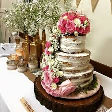Rustic Wood Table Centrepiece 20inch Weddingcake Stand Cheese Boardlog Slice