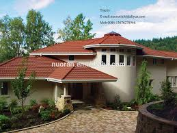 construction materials roof tiles price list coated metal