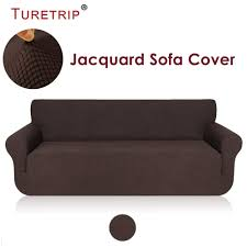 US $28.8 30% OFF|Turetrip 1PC Solid Sofa Cover For Sofa Bed Futon Slipcover  Stretch Furniture Protector For Chair Loveseat Large Sofa Case-in Sofa ...
