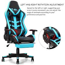 Costway: Costway Gaming Chair High Back Racing Recliner Office Chair ... X Rocker 51396 Gaming Chair Review Gamer Wares Mission Killbee Ergonomic With Footrest Large Recling Best Chairs Of 2019 Reviews Top Picks 10 With Speakers In Bass Head How To Choose The For You University The Cheap Ign 21 Pedestal Bluetooth Charcoal 20 Pc Buy Gaming Chair Rocker 3d Turbosquid 1291711 41 Pro Series Wireless Game