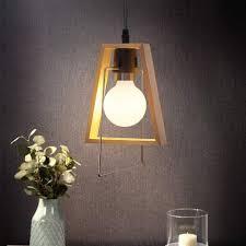 zmh pendelleuchte holz rustikal e27 hängele esstisch vintage hängeleuchte dekorative landhaus design für wohnzimmer esszimmer küche kaufen