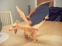 Pokemon Charizard Papercraft By IrrelevantToAnything