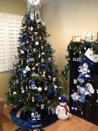 Silver Tip Christmas Tree Los Angeles by My Friend U0027s All Raider Christmas Tree Raiders Pinterest