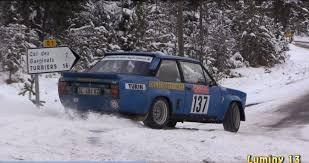 rallye monte carlo historique 2015 rally car
