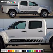 Decal Sticker Graphic Side Stripe Kit For Toyota Tacoma 4x4 Sport ... Preowned 2005 To 2015 Toyota Tacoma Photo Image Gallery Wheel Offset Super Aggressive 3 5 Suspension Lift 6 Truck Of The Year Winner 4runner Wikipedia Used For Sale In Raleigh Nc Cargurus Tundra Work City Tn Doug Jtus Auto Center Inc Dayna Twinwheeler 1 Year Mot 35 Tonne Truck Snugtop Sport Caps For And Car Panama Tacoma Aitomatica Pickup Trucks Automobile Magazine Covers Bed Cover 68
