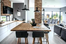 Kitchen Room This Living Dining Area And Was Designed Open Plan But The