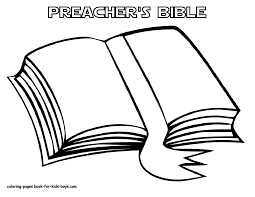 Kids Bible Coloring Pages Printable Within The Page
