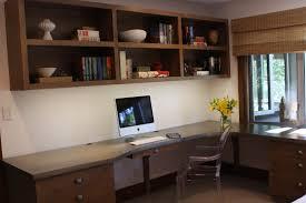 minimalist corner solid wood computer desk with black swivel chair