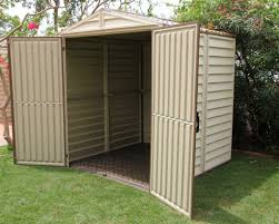 Arrow 10x14 Shed Floor Kit by Discount Duramax 6x6 Storemate Vinyl Shed With Floor