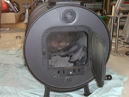 wood heater pot belly fire diy kit 44 gallon drum shed garage