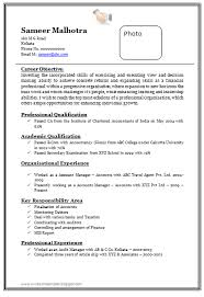 Image Result For Resume Format Experienced Free Download