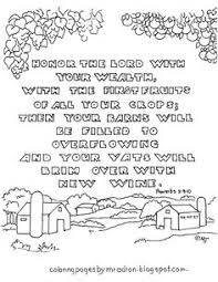 Proverbs Printable Bible Verse To Color This Coloring Page Will Be Useful For Teachers And Parents Teaching Stewardship L