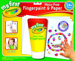 Crayola Bathtub Fingerpaint Soap By Play Visions by Amazon Com Crayola My First Crayola Mess Free Fingerpaint And