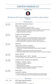 resume for apple store monpence