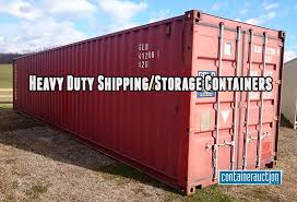 Steel Shipping Storage Container
