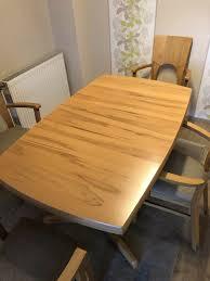 esszimmertisch mit 4 stühlen massivholz gebraucht