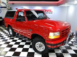 100 Warner Truck Center 1996 Used Ford Bronco 105 WB XLT At International Car Serving Lombard IL IID 19408781