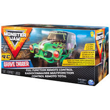 100 Monster Jam Rc Truck Spin Master Official Grave Digger Remote