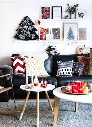 weihnachtsdeko 2018 unser wohnzimmer in rot grün gold und