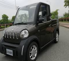 China 4WD Electric Pickup With LED Lamp Micro Truck - China 4WD ...