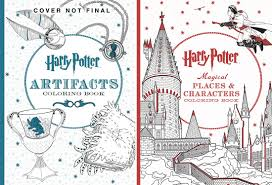 Inspirational Harry Potter Coloring Books Book