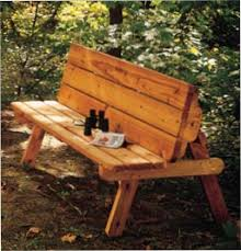 Wood Garden Bench Plans Free by Free Picnic Table Bench Wood Plans It U0027s A Good Thing These Plans