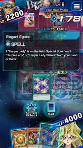 Harpie Lady Deck List by Til You Can Use Elegant Egotist Even When A Harpie Lady Is Being