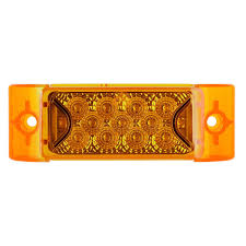 100 Truck Marker Lights Multi Faceted 6x2 Rectangle Led And Trailer Side
