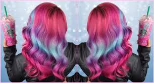 Obsessed With The Unicorn Frappe You Can Dye Your Hair To Match