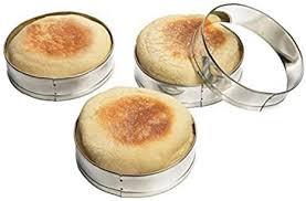 4 stück edelstahl mousse ring kuchen form haushalt burger brot backen form silikon form kuchen runde kuchen verziert werkzeug