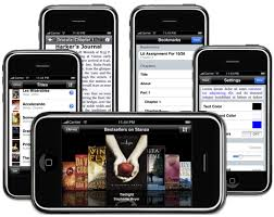 iPhone E book Reader Apps iphone png