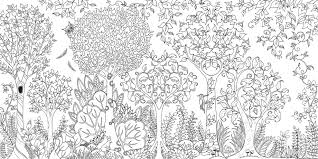 Enchanted Forest Coloring Book Pages