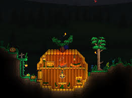 Halloween Event Terraria Mobile by Since It U0027s Almost Halloween Here U0027s My Pumpkin House Terraria