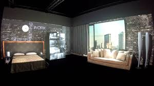 3d Room Video Mapping Projection London Design Week Youtube