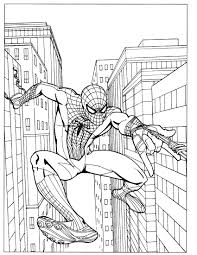 Inspiring Coloring Page Spiderman 40