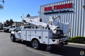 2019 Ford F550 4x4 Altec AT40MH 45' Bucket Truck Crane For Sale In ...