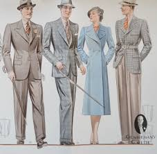 Viennese Suit Styles Of The 1930s Gentlemans Gazette
