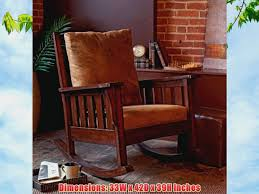 Belham Living Belham Living Remington Mission Rocker - Walnut Browns  Upholstered Elegant Indoor Wooden Rocking Chair Livingroom White Black Surprising Mission Style And Designs Acacia Merax Solid Wood Outdoor For Patio Yard Porch Garden Backyard Balcony Living Room Classic Americana Windsor Rocker Gift Mark With Upholstered Seat Antique Arts Crafts Oak Ladder Back Hip Rail Timeless Handcrafted Fniture From The Rockerman Excellent Chairs Bentwood Hire Folding Table Jackpost Majestics Hdware Knollwood Do It Best Handmade