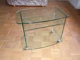 wohnzimmer glastisch rollen möbel gebraucht kaufen in