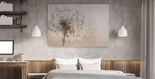 bilder schlafzimmer größe der wand myloview de