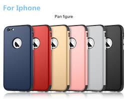 TPU PC Case for iPhone 6 6s 6plus 6splus 7 7plus Double