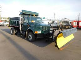 100 International 4700 Dump Truck 2002 Single Axle Detroit DT466