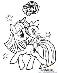 My Little Pony Coloring Pages Twilight Sparkle Color