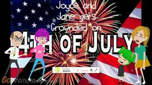 Caillou In The Bathtub Parody by Joyce And Jane Gets Grounded On 4th Of July Youtube