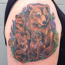 Sarah Baldwin On Twitter Momma Bear And Cubs Done Today Her First Tattoo Thanks Tattoos Beartatt Tco EL3huuLwkH
